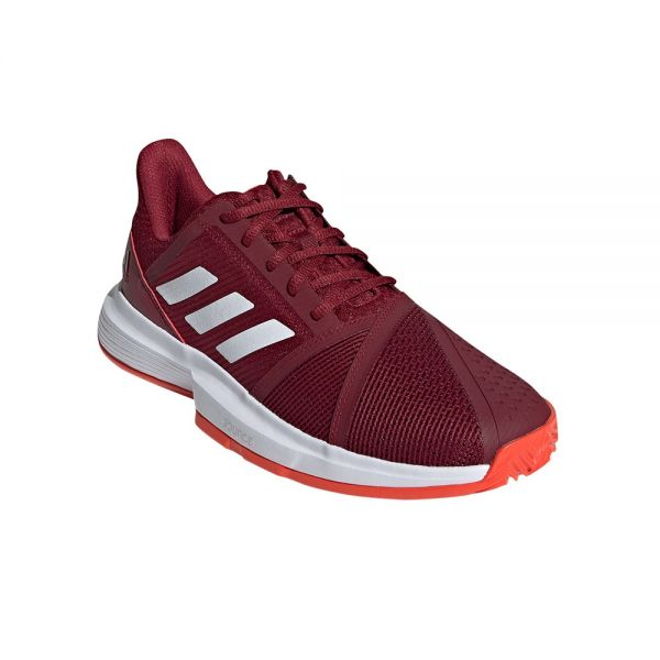 Scarpe Adidas Courtjam Bounce Clay Rosse