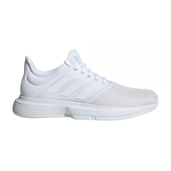 on sale a39ab 55f9a Scarpe Adidas Gamecourt Bianche Donna
